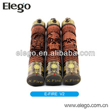 Original Vision E fire X-fire wooden e pipe wholesale from elego