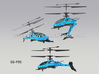 hot new product 3.5CH Transformer infrared helicopter of led helicopter toys