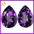 AAA quality loose Synthetic gemstones amethyst