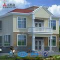 A basso costo, design personalizzato luce ville acciaio di grande spessore, case