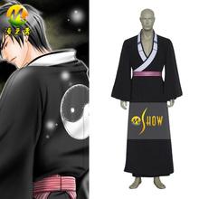 2014 venda quente trajes cosplay samurai kyo mais profundos olhos demônio kyo anime cosplay traje festa de halloween para venda