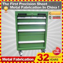 metal dental tool box with tool box locks
