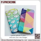 Miroos Shenzhen phone accessory customized Bayer pc personality mobile phone case for iphone 6