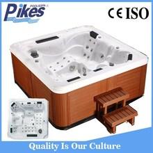 Freestanding Installation Type and Corner Drain Location portable bathtub whirlpool