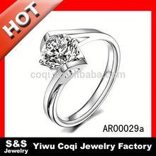 Energetic Stainless Steel Jewelry charms ring binder mechanism
