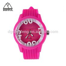 2013 fashion classic plastic watch changeable plastic watch strap ladies flashy wrist watch