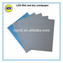 """9""""x11"""" Silicon Carbide water sandpaper"""