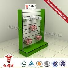 China factory nickel plated supermarket trolley display rack