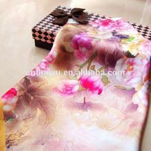 Ladies Custom Design Digital Silk Scarf