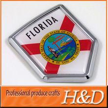 front car chrome badge emblem for sale