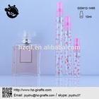 GSM12-1495 clear 10ml wholesale perfume e-liquid glass bottles
