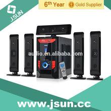 DM-6523 Promotional 5.1 fm radio hi-fi multimedia active speaker system with usb sd