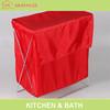 Hot sales polyester pop-up rectangular laundry hamper