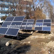 solar tracking frame adjustable solar ground mounting kits system ground bracket solar panel ground mounted rack system