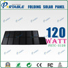 120w high efficiency foldable fabric solar panel charger