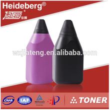 High blackness Toner,Refillable toner powder for Konica Minolta Di200/250/251/350/351 copier,Toner cartridge 302A/B/C