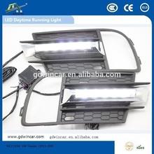 high power led daytime running light for VW Tiguan (2013-204) street legal atv alibaba best sellers stanley headlight