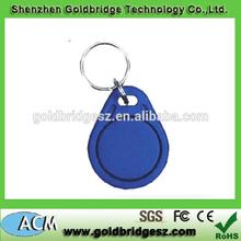 Customed Logo Printable Waterproof ABS TK4100 125khz Access Control Mangement RFID Keytag