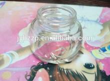 skin shine beauty cream clear glass bottle,cosmetic glass cream bottle