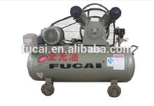 1.5kw 2hp 8bar oilfree belt driven engine type piston air compressor