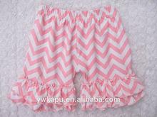 Solid color quatrefoil baby shorts factory direct sale