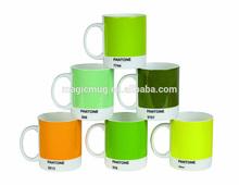 Mixed Greens Pantone Mugs Ceramic Series mug