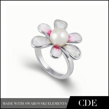 Moda nuziale 1,5 carati taglio princess anelli di fidanzamento