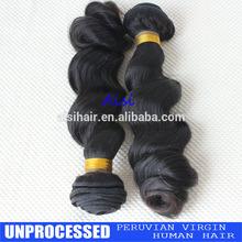 peruvian virgin hair extension wefts human loose wave hair natural black virgin hair wholesale price cheap