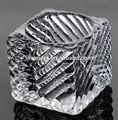 Jóia de cristal suporte de vela suporte de vela de cristal do casamento de cristal candelabro