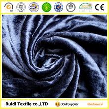 sofa fabric crushed velvet fabric/velvet fabric for garments/Super Soft Velvet Fabric for Blanket Fabric