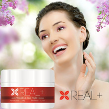 REAL PLUS essential oils wrinkle removal cream best beauty salon products