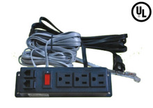 US power supply unit with switch, data network ports,specially for furniture assemble,UL