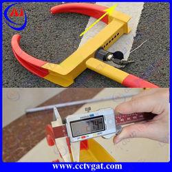 High quality! Car wheel lock suit tyre width 170-275 Anti-theft car tire lock&car tyre lock ,Heavy Duty ,2 Keys