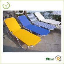 beach lounger -aluminium sun lounger chair