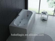 Portable freestanding Indoor corner, combo Air & whirlpool Massage hot Bathtub, computer panel control, hydro jets MT-RT1902