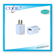 5v1a high quality dual usb wall charger for iphone ipad ipod