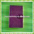 Agenda stile wholesale pu notebook in pelle/notebook in pelle personalizzati produzione