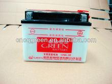 2014 Green battery rickshaw,12v 4ah motorcycle batteries,12v China battery(12N4-3B)