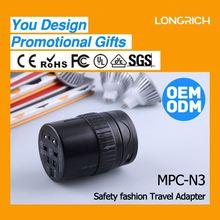 Factory direct sales plug holder,creative dc power jack plug adapter