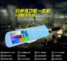 Multi-function car GPS navigator support bluetooth hands-free DVD navigation