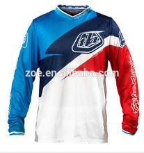 Professional Motorcross Wear/hoch quality polyester Jacke/sublimation printed motorcross t shirt wear