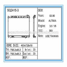 Auto Parts - Heat Radiator for NISSAN ALTIMA 16 MT