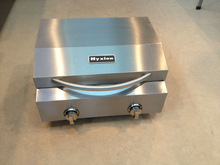 HGG2011U HYXION Camping portable stainless steel commercial charcoal bbq grill/ folding legs