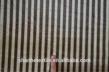 jacquard stripe sheer curtain fabric