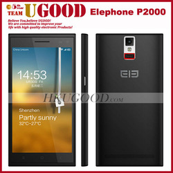 cheapest android 4.4 built-in GPS 2 sim mobile phone p2000