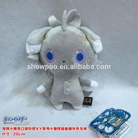 Anime Plush Grey Pokemon Plush 20CM Stuffed animal doll Cute Plush Wholesale Cos New Style