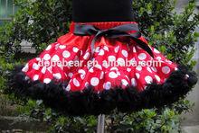 Made in china tutu dress fashion girl dress polka dot girls puffy tutu dress