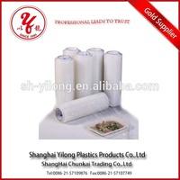 Food grade accept custom order pe/ldpe/lldpe/hdpe white plastic wrap insulation roll
