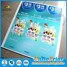 no lamination rectangle or shape cutting rectangle or shape cutting promotional signs
