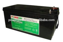 12v 200ah sealed rechargeable battery dynavolt fm battery